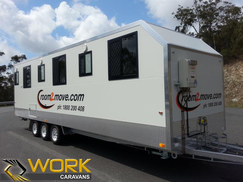 accommodation - caravan