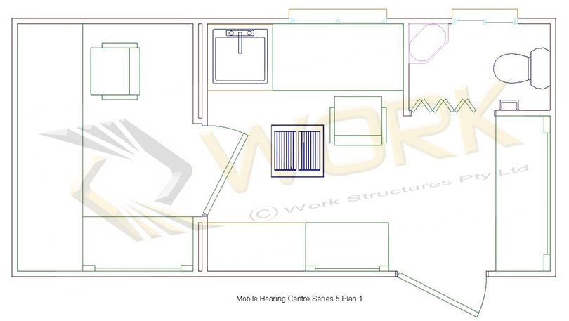 Mobile Hearing Centre Series 5 Plan 1